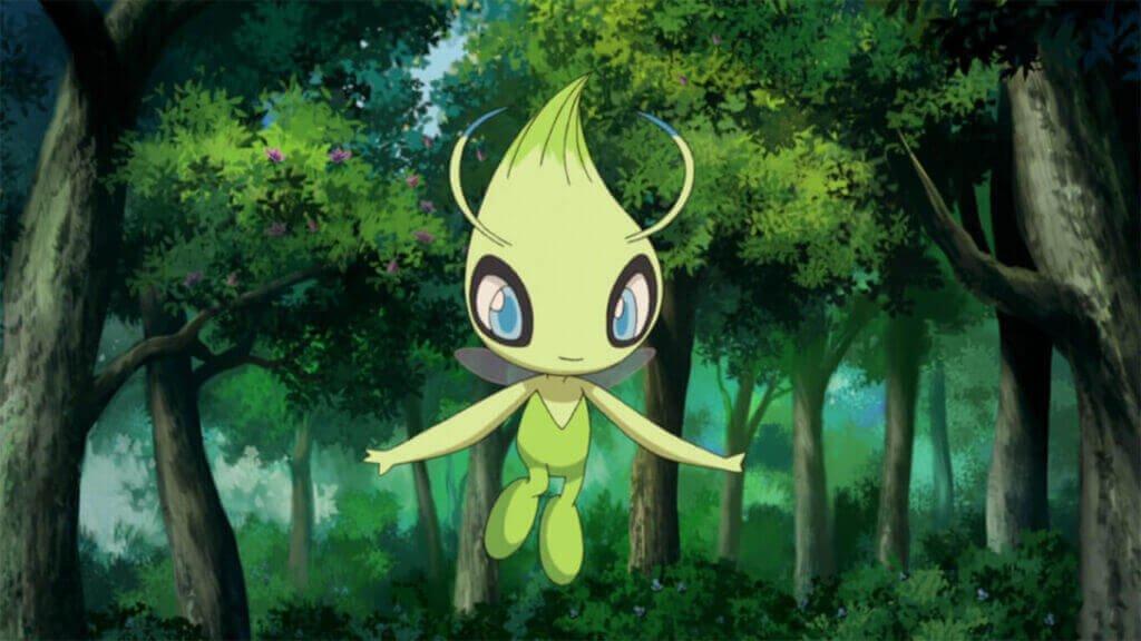 Celebi Pokemon